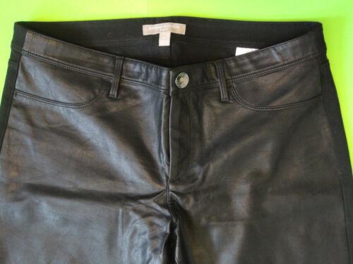 Banana Jeans Faux con Leather Republic zip alla Ln caviglia Sloan {size 10} nera wIgqFrzI