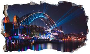 Australia-Sydney-Opera-House-Magic-Finestra-Wall-Art-POSTER-Autoadesivo-V-3