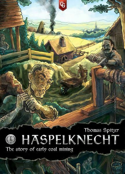 Haspelknecht Board Game By Quinned Games BNIB