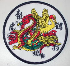 TOPPA DRAGO TIGRE MANTIDE TIGER MANTIS DRAGON KUNG FU PATCH SHAOLIN WING CHUNG