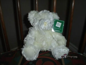 Russ Berrie Candie 8 Inch Christmas Bear 22427 All Tags