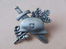 Pin STAHLHELM - 15 mit Butterfly Verschluss