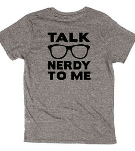 adfc59c7c Talk Nerdy To Me Hipster Glasses T-shirt Geek Math Science Funny ...