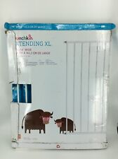 """Munchkin Extending XL Tall and Wide Hardware Baby Gate Extends 33/"""" 56/"""" Wide,"""
