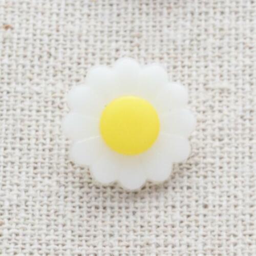 19//32 pouces Daisy Boutons Shanks 19 Couleurs Taille 15 mm libre p/&p UK Vendeur