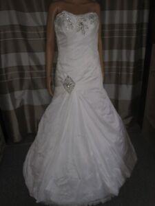 (B36)Edles Damen Braut Standesamt Abend Kleid GR: GR: 46 ...