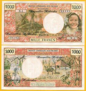 New-Hebrides-1000-Francs-p-20c-1979-UNC-Banknote