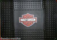 Harley Davidson Shield Mat Welcome Shop Color Cargo Suv Floor Home 24x34 (big)