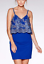 RRP-37-EX-QUIZ-Stunning-Blue-Ladies-Floral-Embroidered-Mesh-Bodycon-Dress-8-16 thumbnail 3