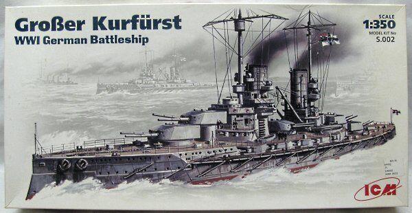 ICM  1 350  Battleship SMS Großer Kurfürst    S.002 s002  SealednEW