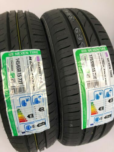 Sommerreifen Reifensatz smart fortwo 450 145 65 175 55 R15 Nexen