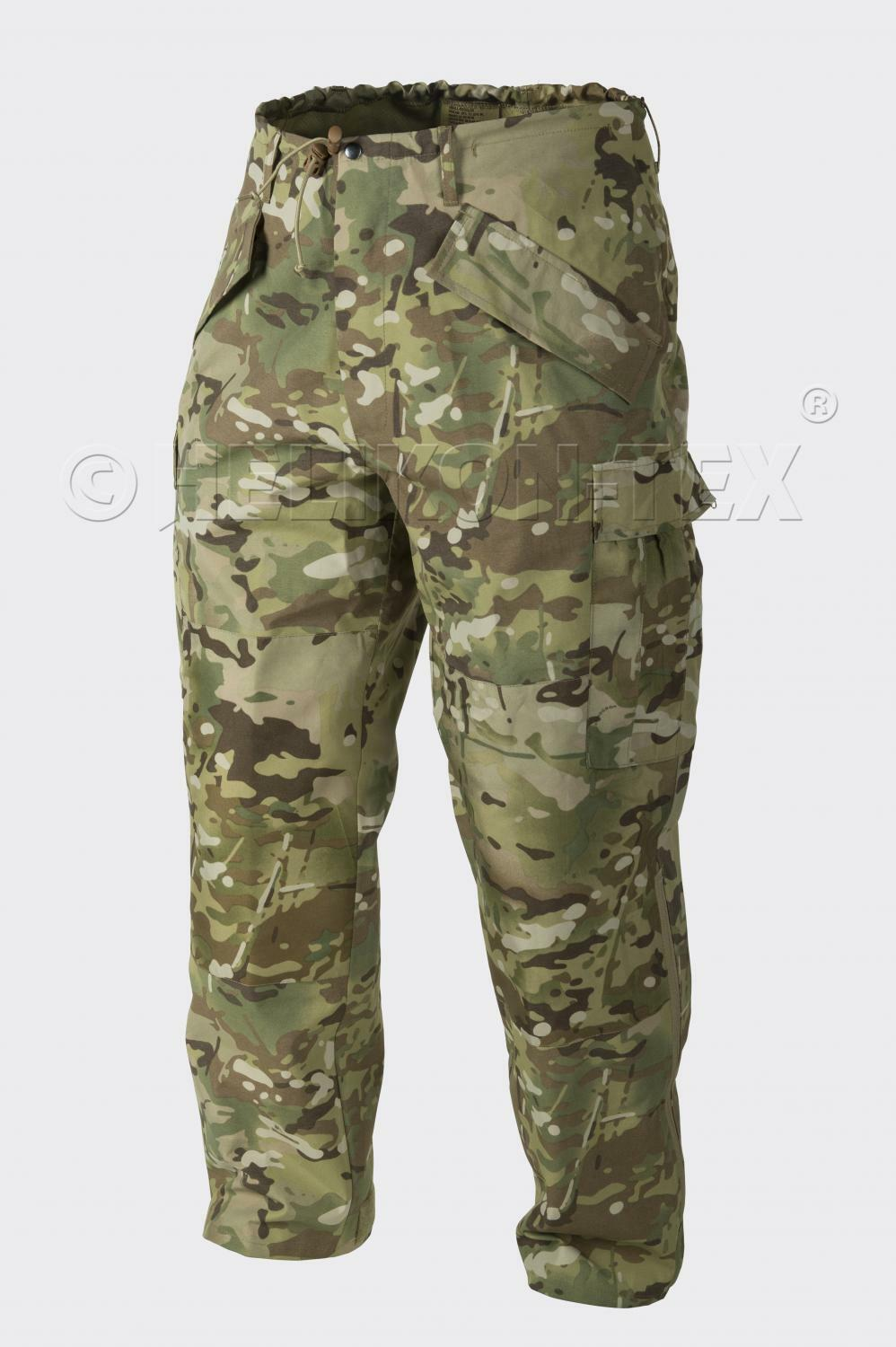 HELIKON TEX US GEN II Army ECWCS Wet Wet Wet Cold Weather Hose CAMOGROM PANTS S Small 057b78
