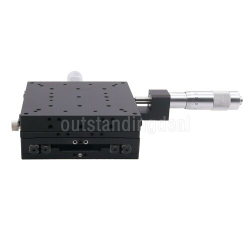 SEMY100-AC 2-Axis XY Micrometer Linear Stage Manual Linear Stage 100x100mm os12