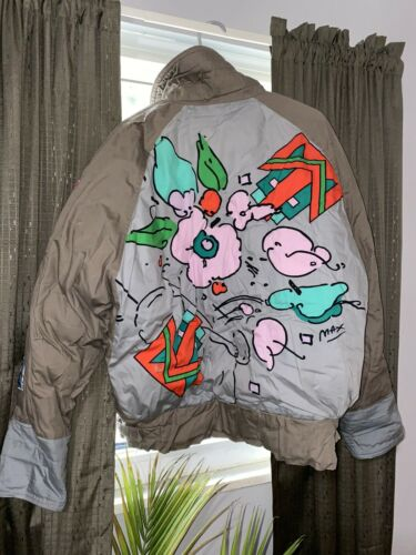 VINTAGE Peter Max (Neo Max) Jacket / Size Large/ R