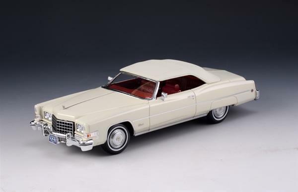 GLM  Cadillac Eldorado Convertible blanc Op 1 43 121402  beaucoup de surprises