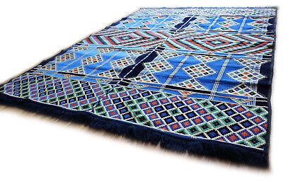 135 Cm X 200 Cm Tappeto Orientale, Rug, Kelim, Carpet In Damaskunst S 1-4-25 Il Prezzo Rimane Stabile