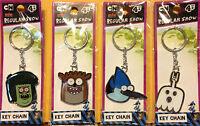 Regular Show Metal Keychain (mordecai, Rigby,ghost, Muscle Man) Brand