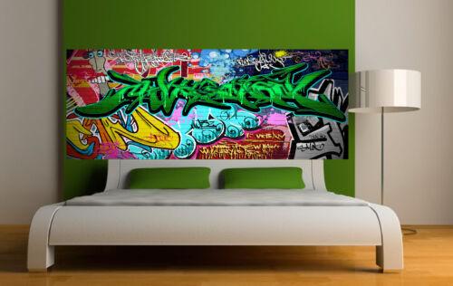 5 dimensions Sticker tête de lit décoration murale Graffiti  2  réf 3676