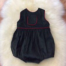 Baby Boy Pea Pie Children's Clothing Green Red Sleeveless Onesie Size 6M NWOT