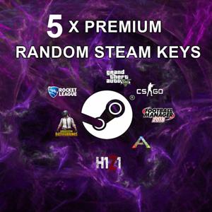 5-x-Random-PREMIUM-Steam-CD-Keys-Guaranteed-14-99-GAME-Games-up-to-40