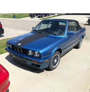 1992 BMW 318i convertible E30 motor sports edition