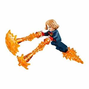 LEGO-Captain-Marvel-Minifigure-Marvel-Avengers-Endgame-sh555-76131-mini-figure