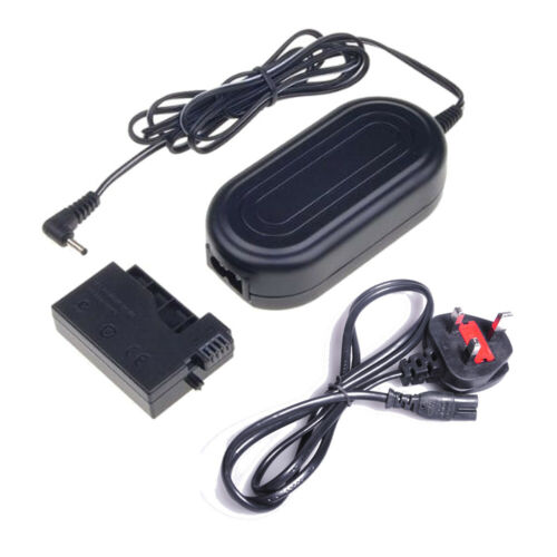 ACK-E8 AC Power Adapter /& DC Coupler for Canon EOS 650D 600D 550D T5i T4i T3i