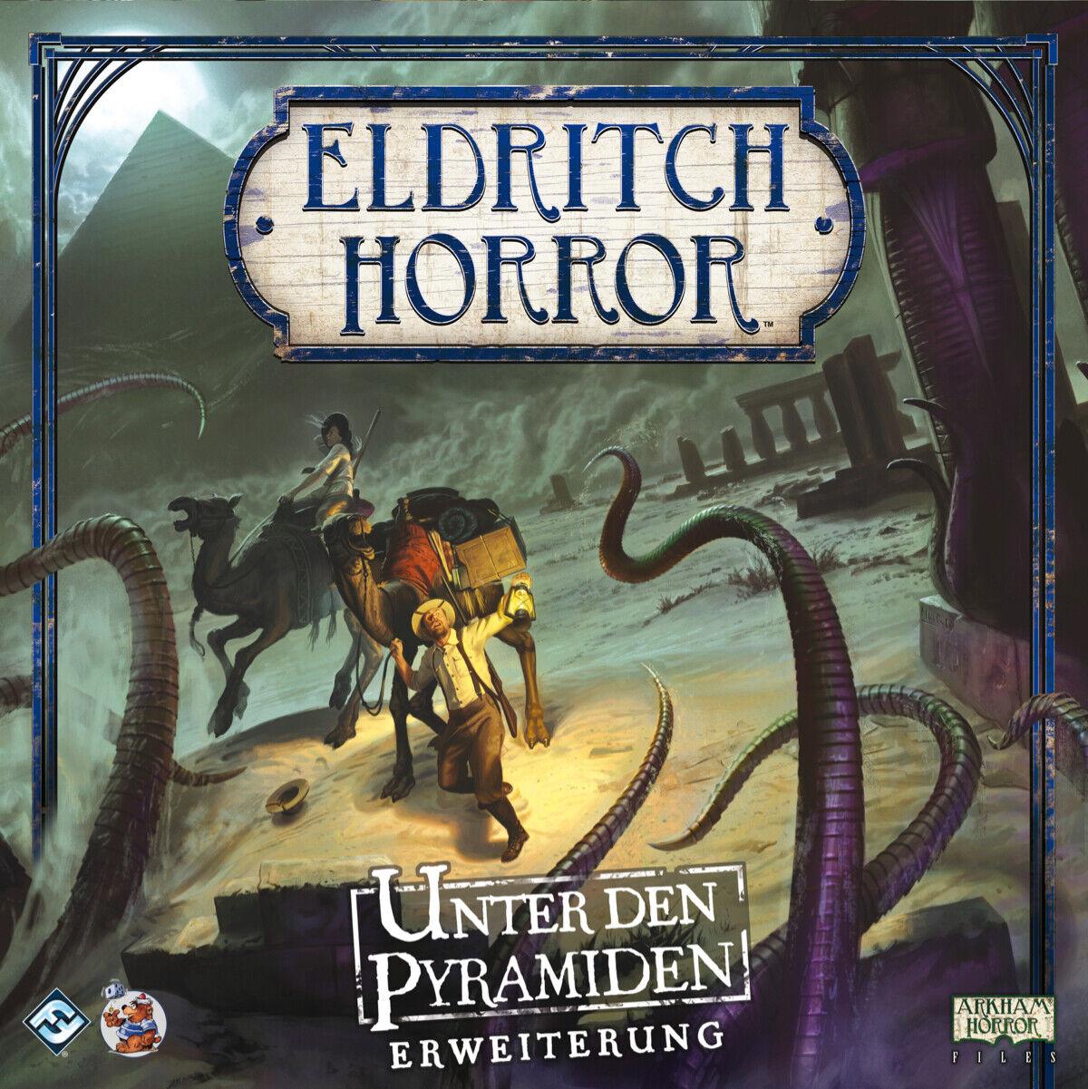 Eldritch Horror Unter den Pyramiden Pyramiden Pyramiden Erweiterung Deutsch Neu Top 5841b3