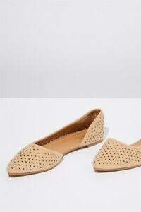 Rubi-Shoes-Womens-Piper-Laser-Point-Flats-In-Pink
