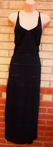 TOPSHOP-60-COTTON-STRAPPY-BLACK-KNIT-KNITTED-JUMPER-LONG-MAXI-WINTER-DRESS-18