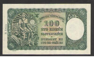 Slovakia 100 Korun 1993  Pick 22.a UNC Uncirculated Banknote