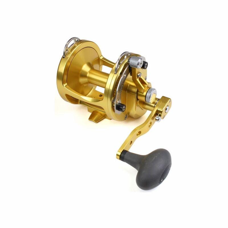 Nuevo Avet Alto x Ancho 5 2 Ancho Fishing Reel 2 Velocidad-oro Libre de puesta en cola y enviar