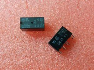 4x-Omron-G5V-2-H-DC24-24V-2A-1-6-Kohm-Interruptor-DPDT-Rele-senal-baja-de-alta-sensibilidad
