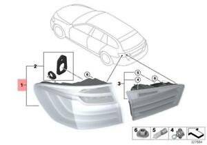 Genuine BMW F48 SUV Rear Light In The Side Panel Left OEM 63217488543