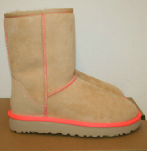 Ugg W 38 Ii Boot Neon Gr Kurz Classic Kamel vr5v6w