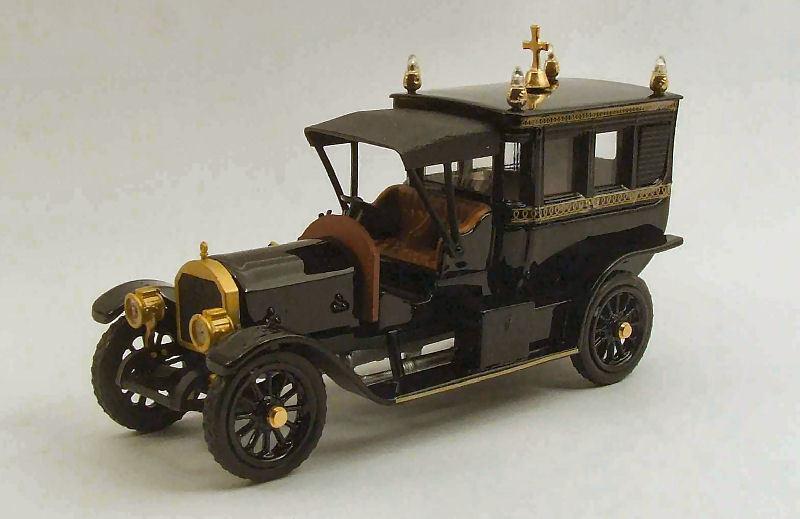 Mercedes Limousine Carro Funebre 1910 1 43 Model RIO