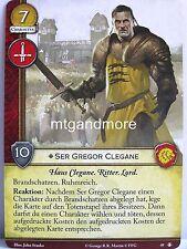 A Game of Thrones 2.0 LCG - 1x ser Gregor Clegane #049 - la pace del re