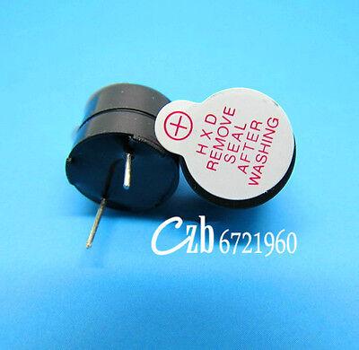 10Pcs Active Buzzer 12mm 3V Magnetic Long Continous Beep Tone Alarm Ringer