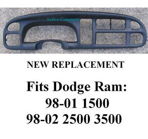 S L on 2001 Dodge Ram 1500 Dashboard Replacement