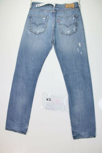 W32 Taille De Wb238 L34 46 Customized 501 Jeans Larmes Remake code Levis a47YqIwn