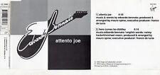 EDOARDO BENNATO CD single MADE in GERMANY Here come Bo Diddley + Attento Joe