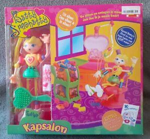 Figurine Betty Spaghetty Salon de Coiffure Hasbro C-7 no Barbie Jem Bisounours