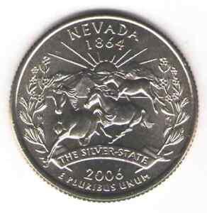 ND Quarter Uncirculated. Nouth Dakota Statehood 2006-D 1889 US