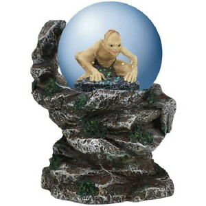 The-Lord-of-the-Rings-Gollum-Figure-Cliffside-65mm-Water-Globe-NEW-UNUSED-BOXED
