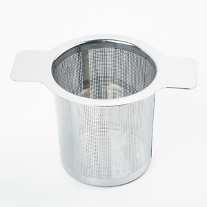 Infuser Coffee With Handle Stainless Steel Mesh Colander  Filters Tea Strainer