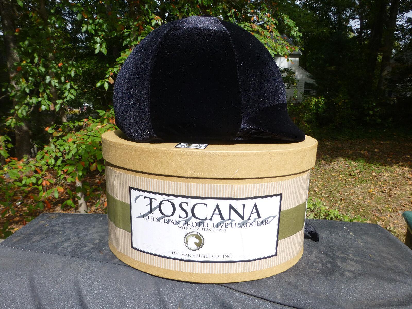 NEW Toscana Equestrian Helmet Predective Headgear Medium Hat Size 7 to 7 1 8