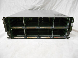Dell-Equallogic-PS6100-PS6110-PS6210-SAN-Storage-Chassis-24x-3-5-034-Bays-2x-Power