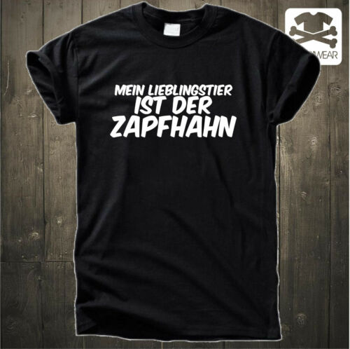 MEIN LIEBLINGSTIER IST DER ZAPFHAHNMALLEOKTOBERFEST PARTY SAUF FUN SHIRT