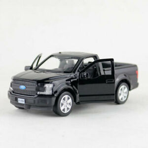 1:36 Ford F-150 Pick-up Truck Model Car Diecast Toy Vehicle Pull Back Black Kids