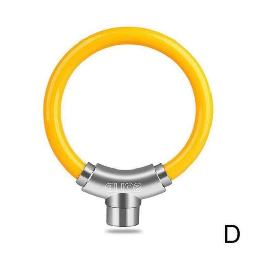 Anti-Theft Lock Convenient Bicycle Round Lock Bike Road Chain Security Lock B4N5